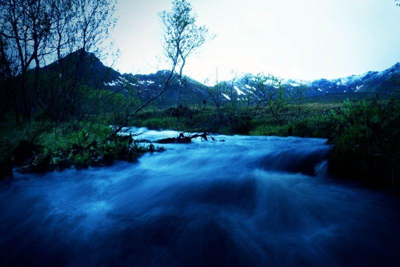 Fluss_Norwegen_Berg