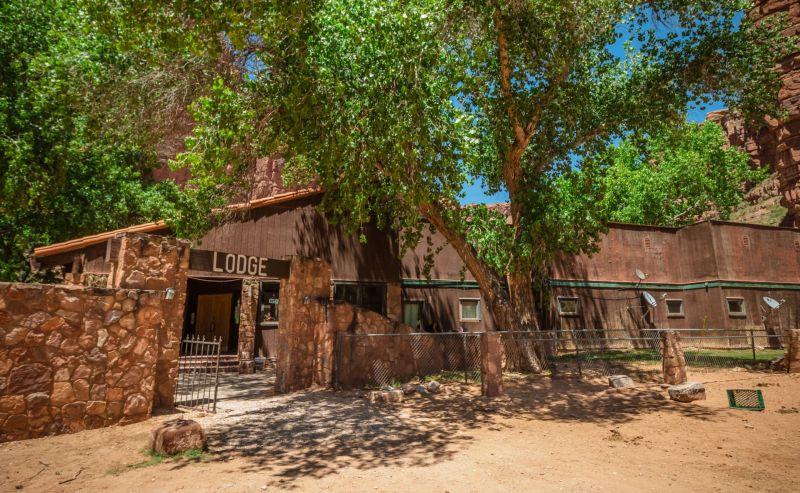Havasupai Lodge bei den Havasu Falls