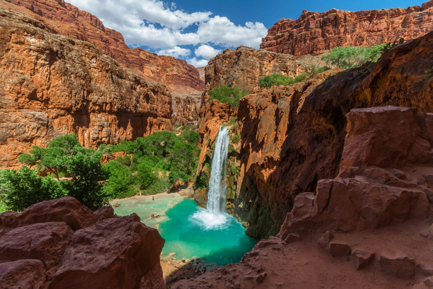 Havasu Falls im Grand Canyon Wallpaper