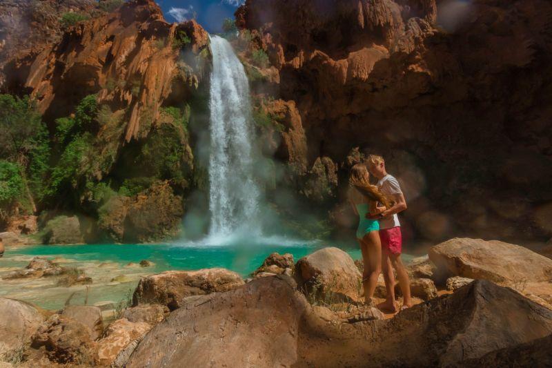 Reise zu den Havasu Falls