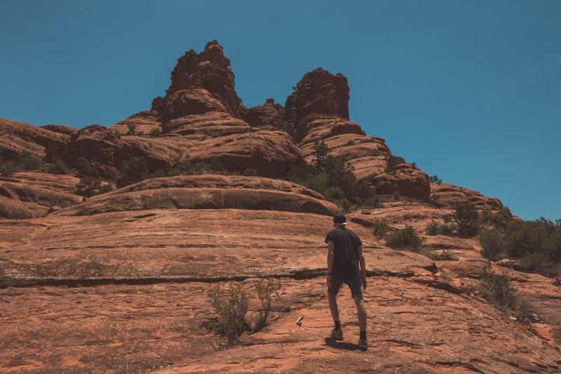 Auf den Bell Rock klettern in Sedona