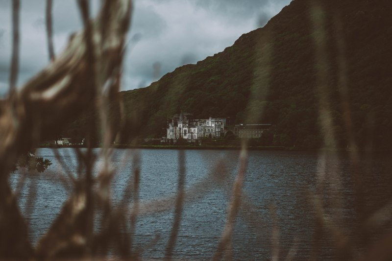 Schloss am See in Irland